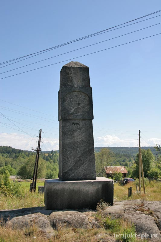 July 22, 2006. Impilahti. The memorial to Finnish heroes of 1918