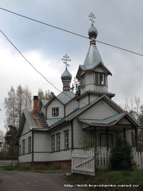 October 6, 2007. Pitkäranta. Orthodox Ascension church