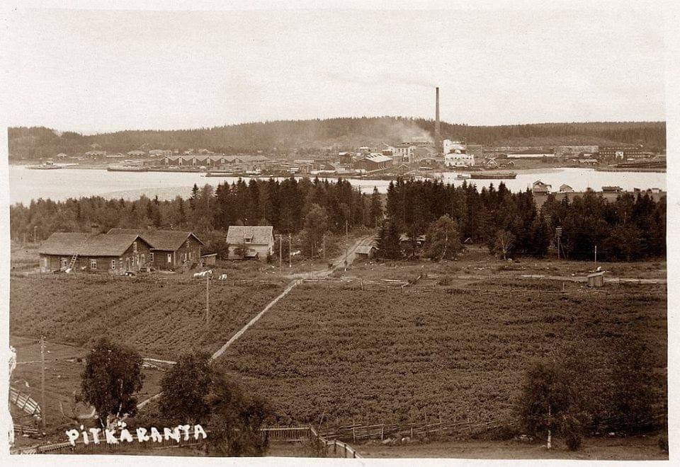 1910's. Pitkäranta