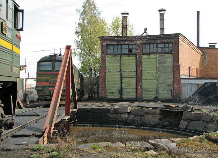 May 21, 2006. Pitkäranta. Railway Station