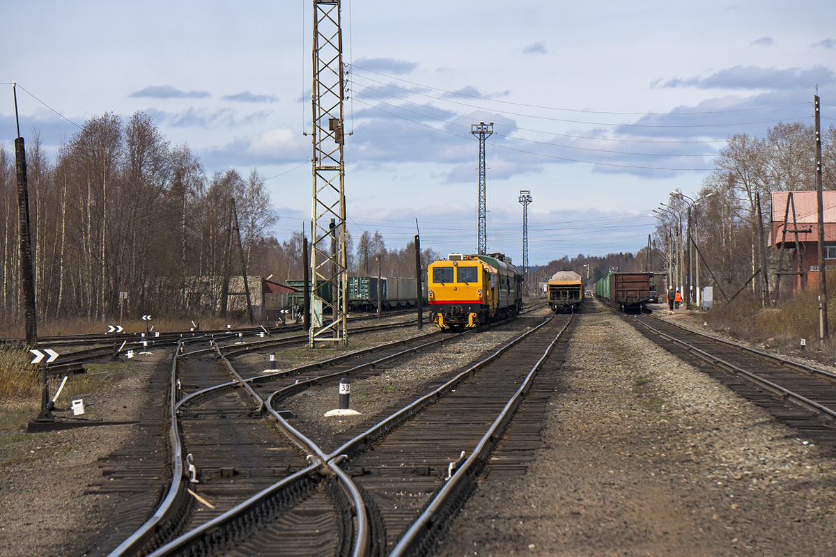 May 8, 2014. Pitkäranta Railway Station