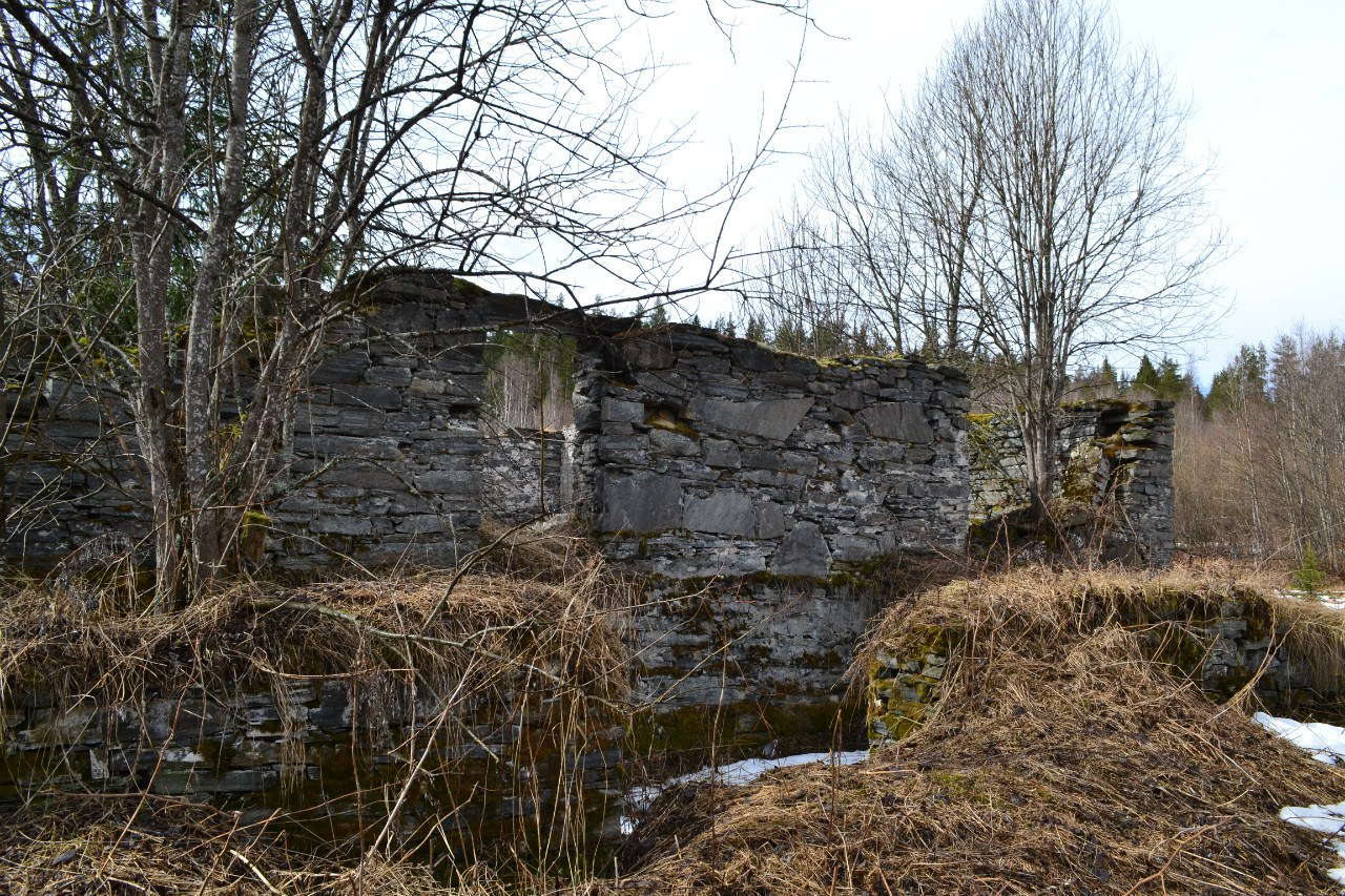 April 2013. Jukakoski. Ruins of Jukka's farm
