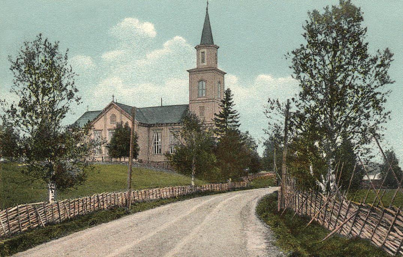 Early 1900's. Impilahti. Lutheran church