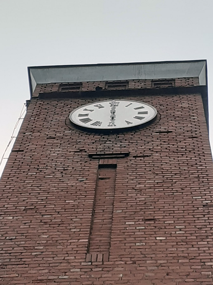12 октября 2020 года. Питкяранта. Здание дирекции целлюлозного завода
