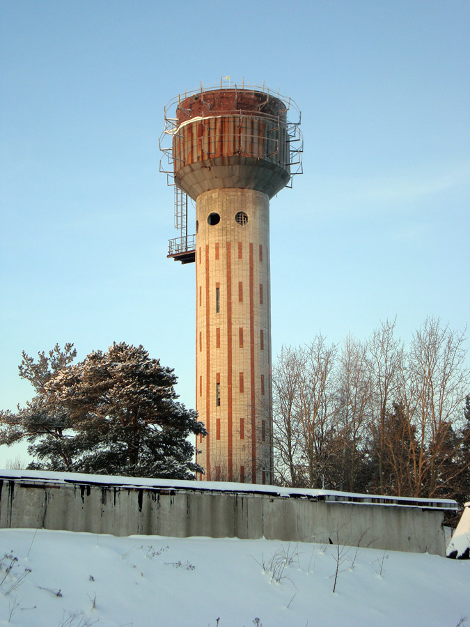 January 9, 2010. Pitkäranta. Water tower