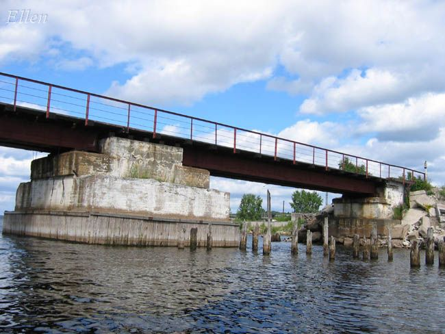 July 26, 2006. Pitkäranta. Railway Bridge
