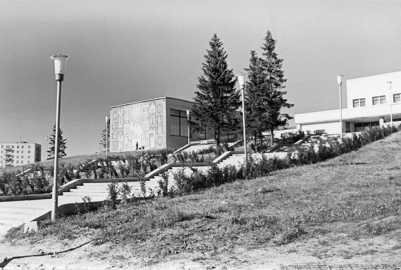 1977 год. Питкяранта. Клуб