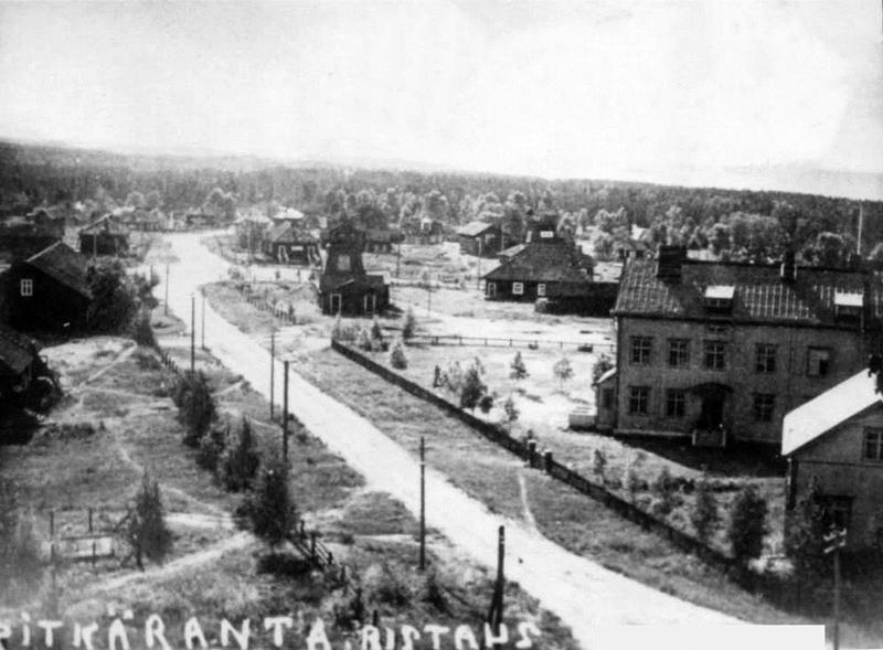 1930's. Pitkäranta