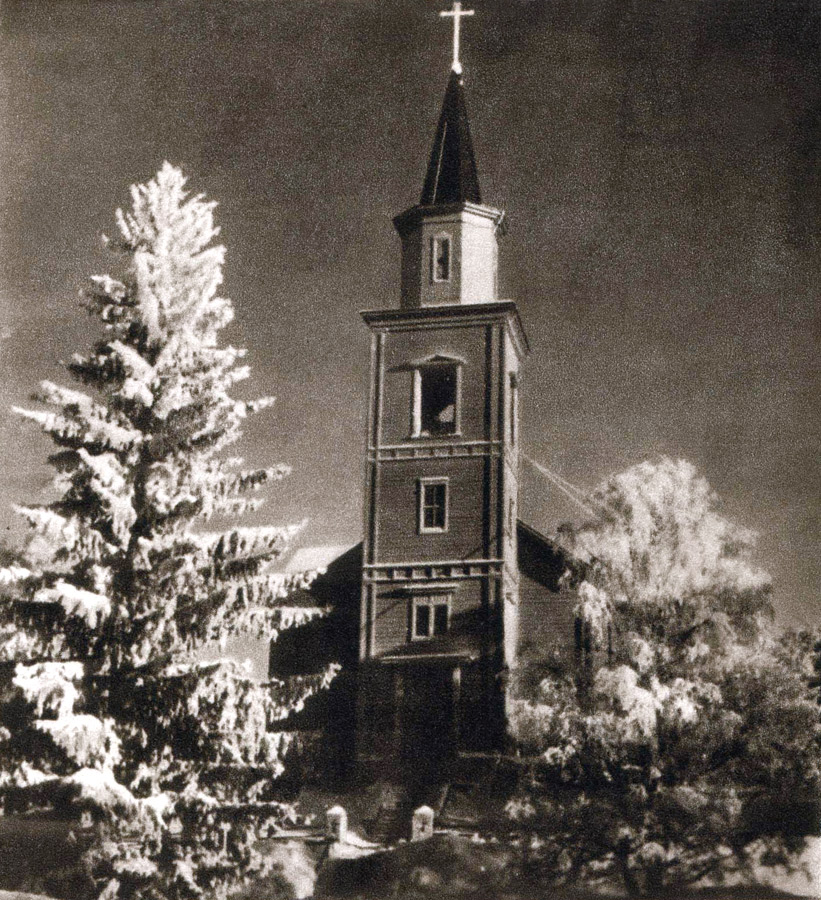 December 1939. Impilahti. Lutheran church