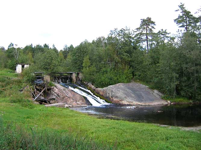 September 10, 2005. Koirinoja. Myllykoski