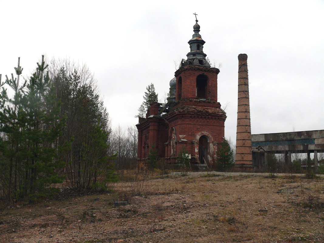 October 2015. Syskynsalmi. Ruins of the St.Hermann Skete