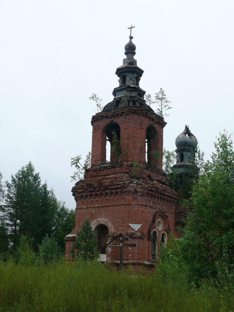 July 28, 2016. Syskynsalmi. Ruins of the St.Hermann Skete