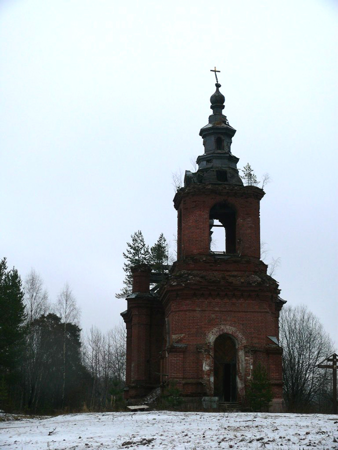 2014. Syskynsalmi. Ruins of the St.Hermann Skete