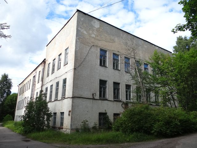 August 4, 2015. Pitkäranta. School