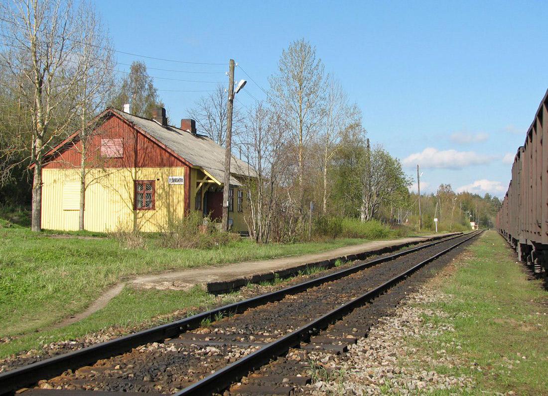 21 мая 2006 года. Леппясилта. Железнодорожная станция