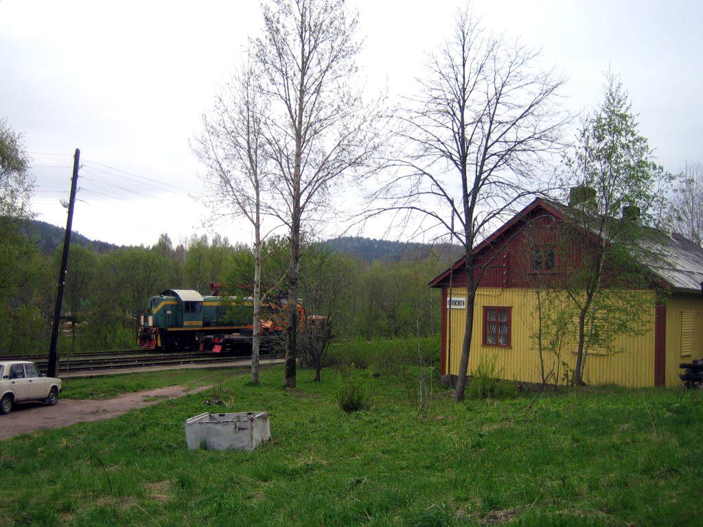 25 мая 2006 года. Леппясилта. Железнодорожная станция