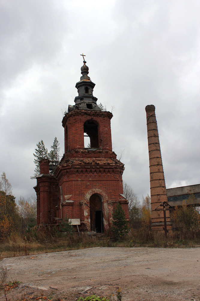October 2014. Syskynsalmi. Ruins of the St.Hermann Skete
