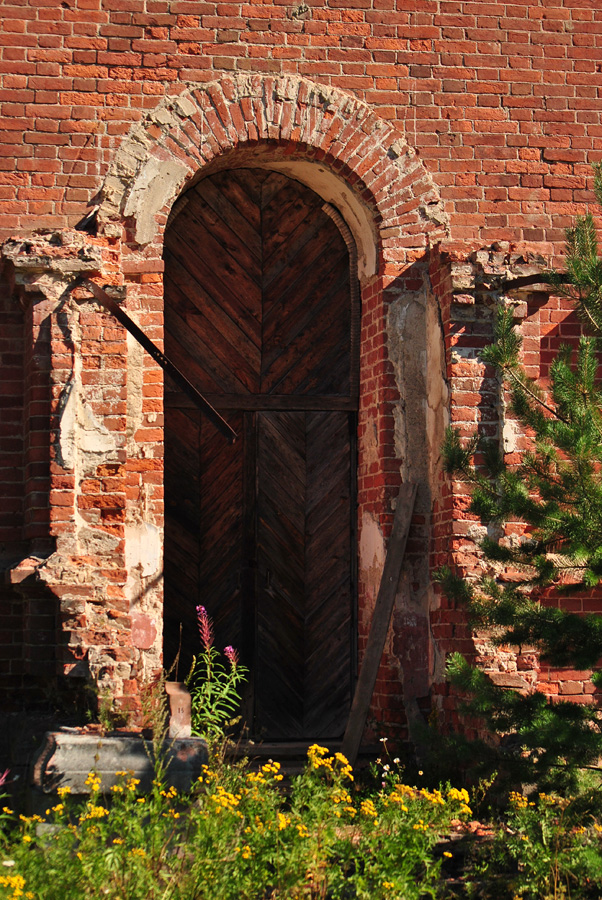 August 2015. Syskynsalmi. Ruins of the St.Hermann Skete