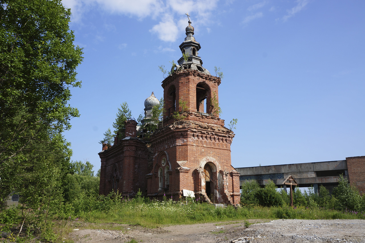 July 5, 2013. Syskynsalmi. Ruins of the St.Hermann Skete