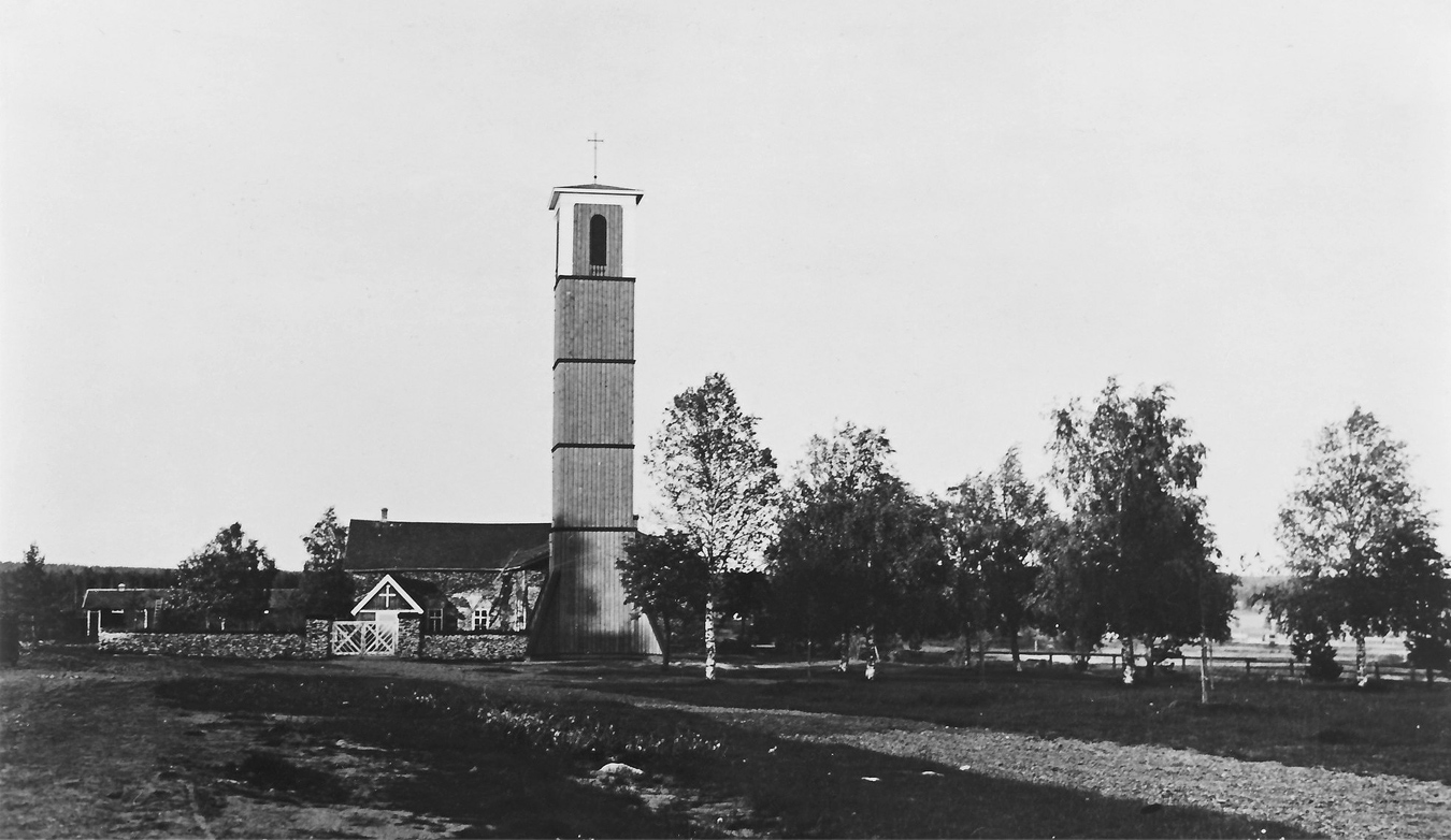 1930's. Pitkäranta. Lutheran prayer house