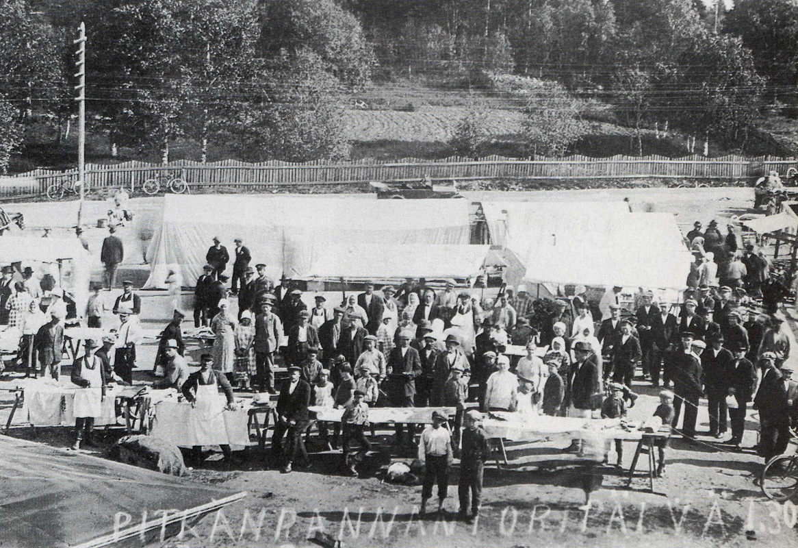 30 июня 1927 года. Питкяранта. Рыночная площадь
