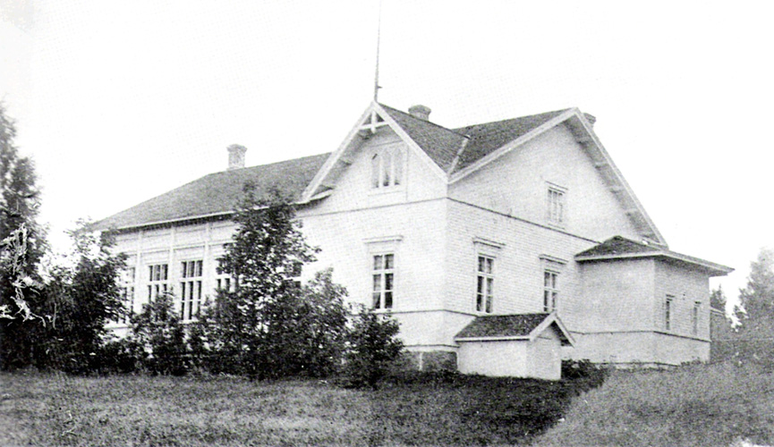 1930's. Syskyjärvi. The Popular School