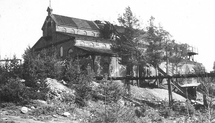 1930's. Ala-Ristioja. Copper mill