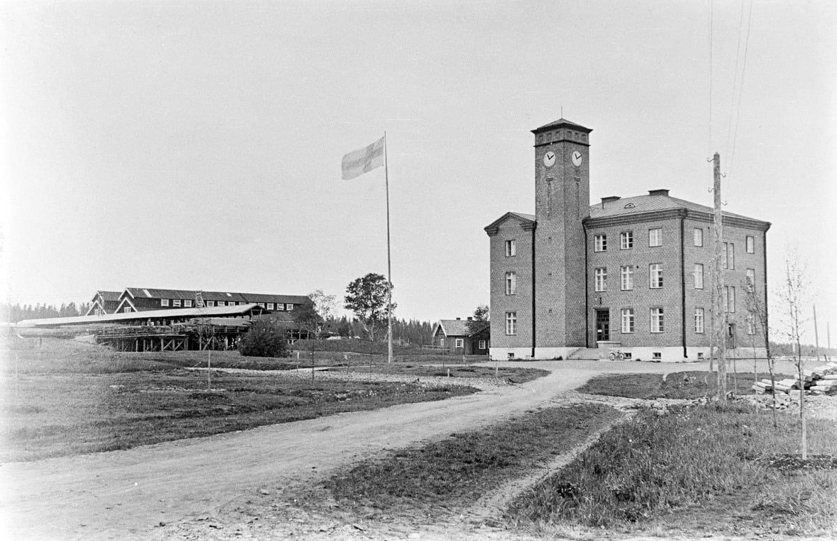 1931 год. Питкяранта. Целлюлозный завод