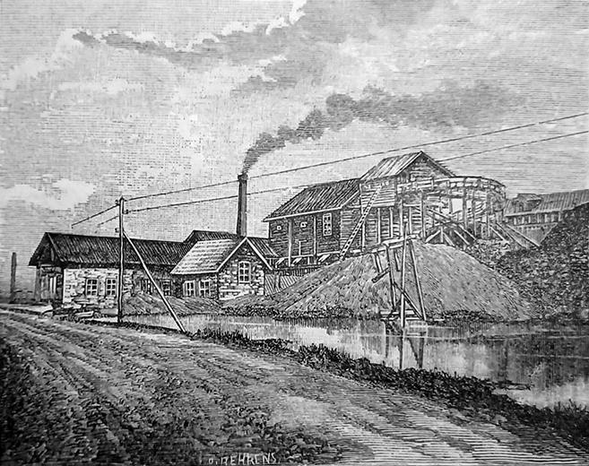 1890-е годы. Питкяранта. Рудники