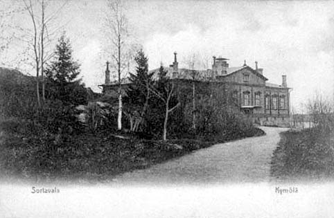 1910's. Sortavala. Building of teacher's exseminary