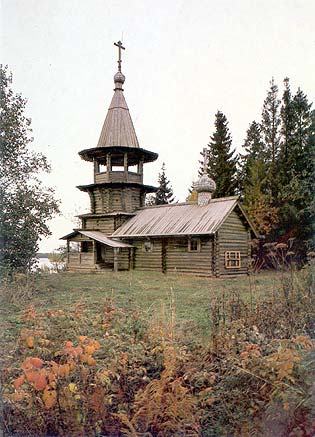 1985. Kizhi. Chapel from Korba village. XVIII