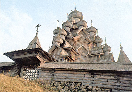 1980's. Kizhi. Church of the Transfiguration. 1714