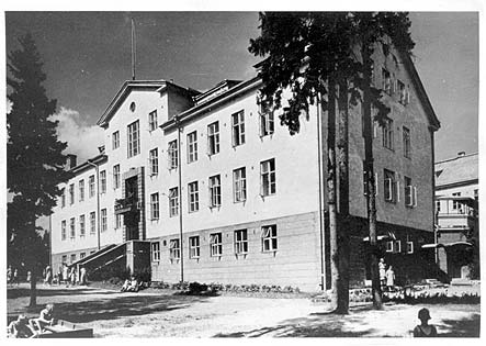 1930's. Sortavala. Children's shelter
