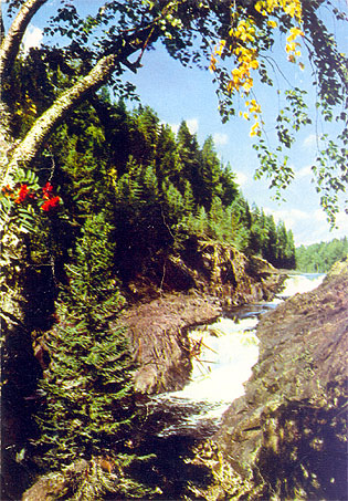 1965. Kivatch Waterfall
