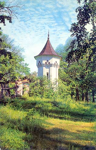 1975. Valaam. The White Skete. The Corner Tower