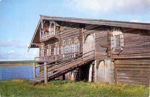 1970. Kizhi. The Oshevnev House. XIX