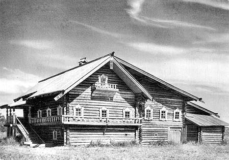 1967. Kizhi. The Elizarov House. XIX