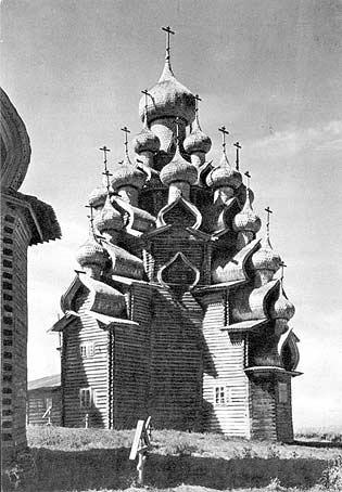 1967. Kizhi. Church of the Transfiguration. 1714
