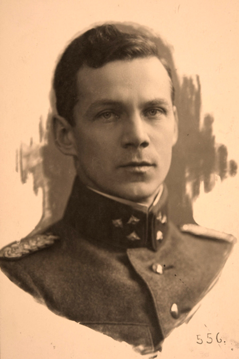 1918. Commander of 3rd division Colonel Aarne Sihvo