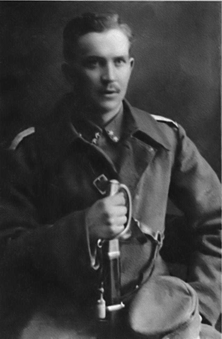 1918. Jääkäriluutnantti Paavo Talvela