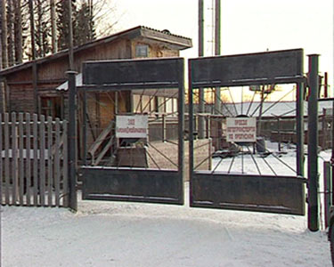 December 31, 2006. Derevjanka station. Sawmill