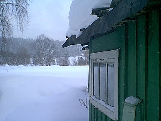 March 12, 2005. Derevjanka station