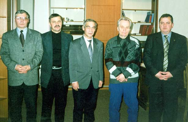 November 15, 2002. In the War Historian Institute of the Russian Federation Defence Ministry, Moscow