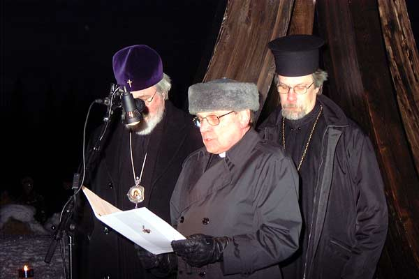 March 13, 2003. The opening of Monument of the Winter War