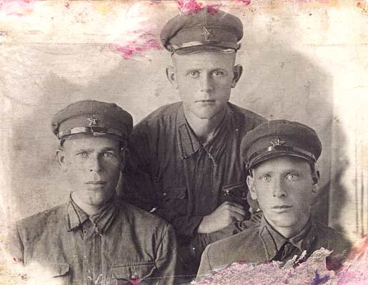 Late 1930's. Soviet soldiers of the 44th division