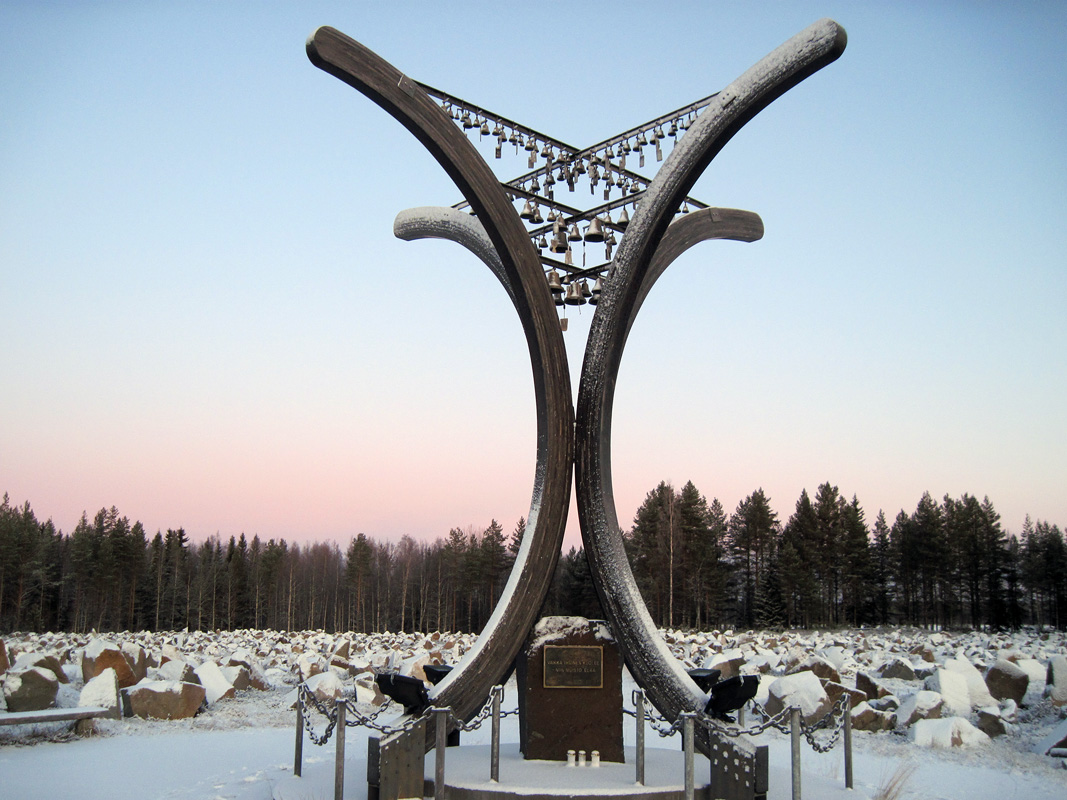 November 29, 2011. The Monument to the Winter War
