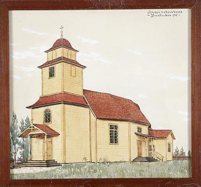 1915 год. Церковь Ильме