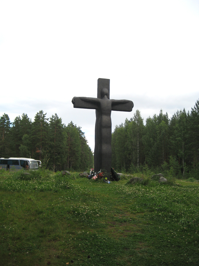 August 3, 2008. Cross of Sorrow