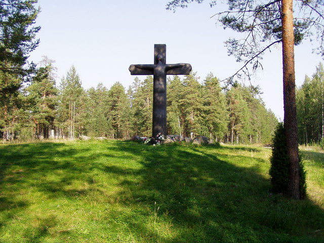 August 29, 2005. Cross of Sorrow