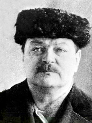 Февраль 1922 года. Эрнст Тандефельт